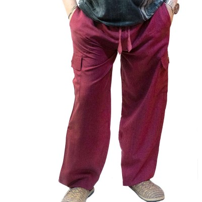 Pantalon hippie liso TRM1902