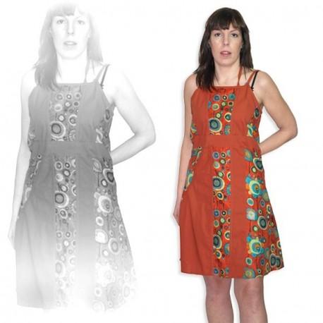 Vestido hippie chic DRIN1210