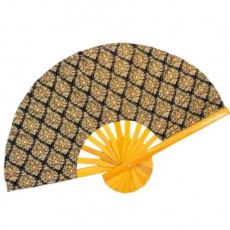 Pendiente dorado boho PE371IN