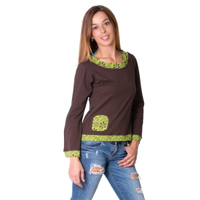 Camisa Hippie Parches KTNE1703