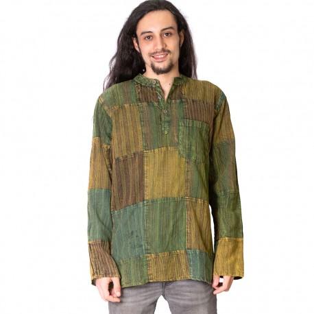Camisa hippie hombre KTNE1906