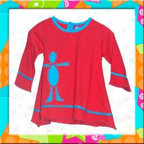Vestido hippie infantil KDNE1228