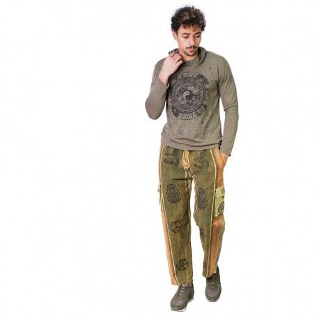 Pantalon hippie hombres TRM1907