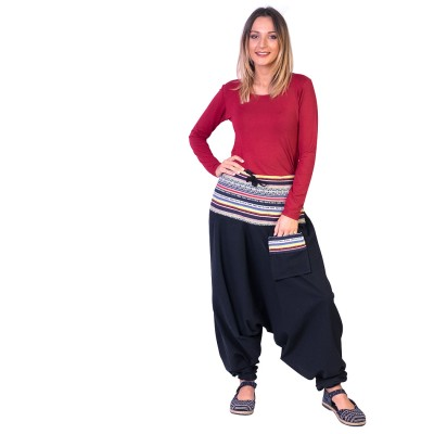 Pantalon afgano etnico TRNE1910