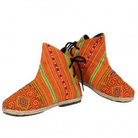 Bota hippie Hmong SHS47TH