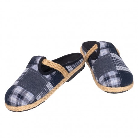 Zuecos hippies patchwork SHS48TH