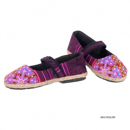 Zapatos etnicos Hmong SHS49TH