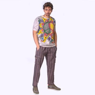 Pantalon hippie rayas TRM1908