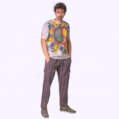 Pantalon Hippie Rayas Trm1909