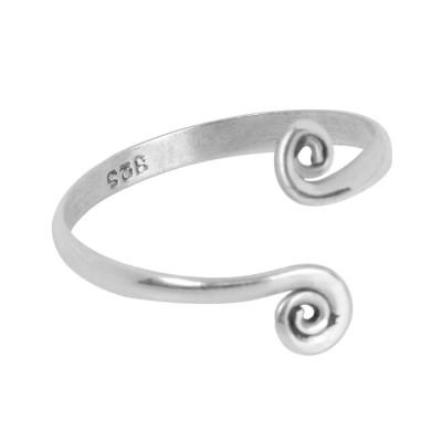 Anillo espiral plata ANP05IN