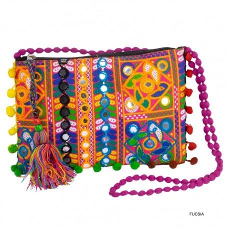 Bolso cartera etnico BG356