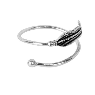 Anillo ajustable pluma AN161IN