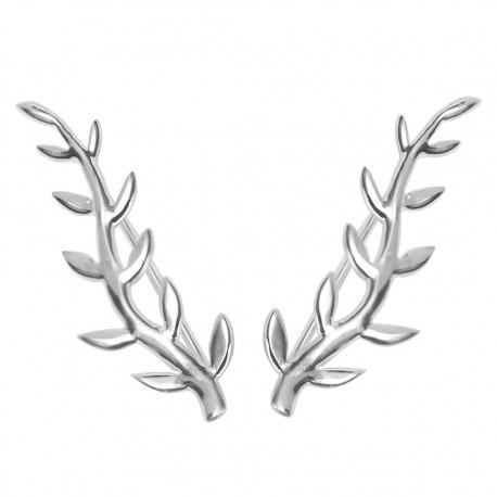 Pendientes trepadores plata PEP631TH