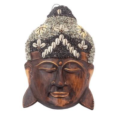 Mascara Buda madera MKS08BA