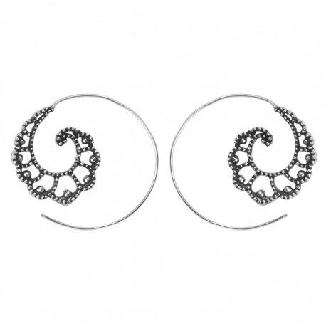 Pendientes Boho espiral PE682IN