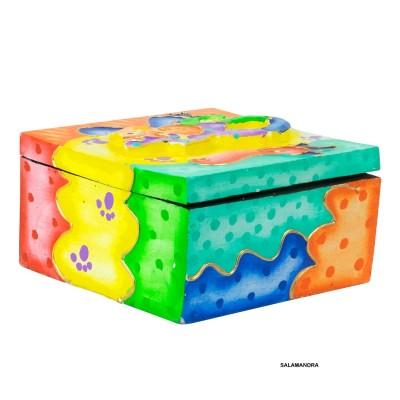 Caja hippie pintada BX40BA