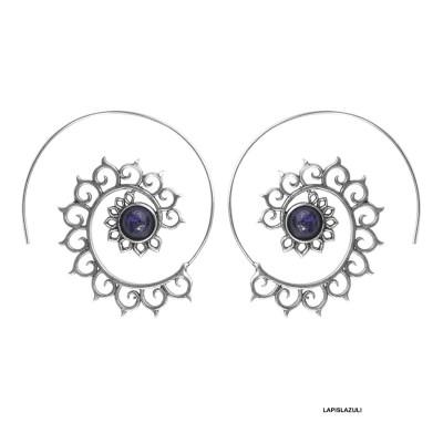 Pendientes Boho espiral PE683IN