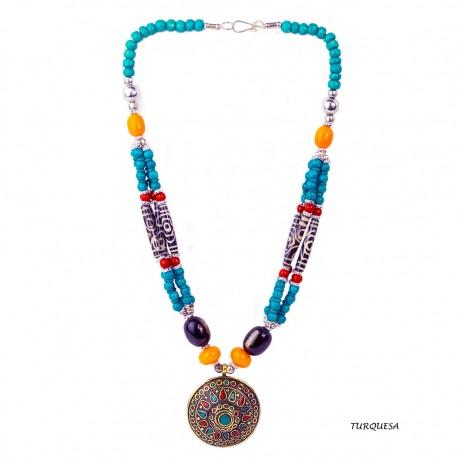 Collar tibetano CL167NE