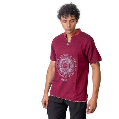 Camisa hombre mandala KTNE2002
