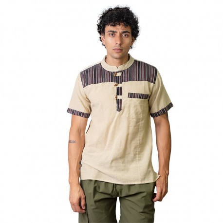 Camisa hippie hombre KTNE2001