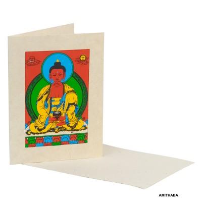 Tarjeta postal budista TJ05NE