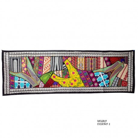 Tapiz etnico patchwork TZ73IN