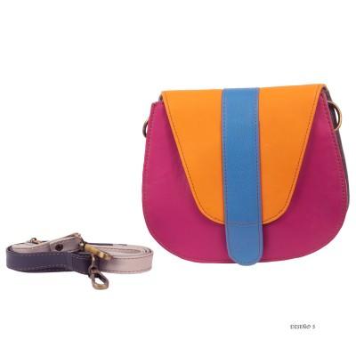 Bolso piel multicolor BG370