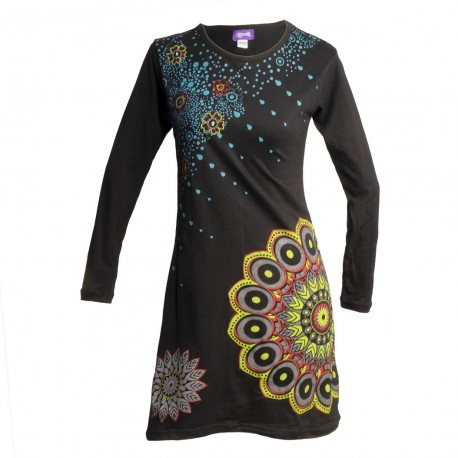 Vestido hippie mandala DRNE2006