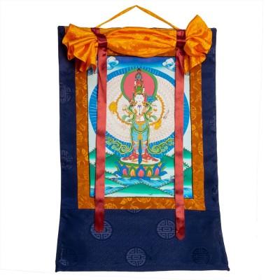 Avalokitesvara Thangka THK15