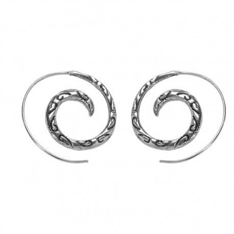 Pendientes espiral Boho PE715IN
