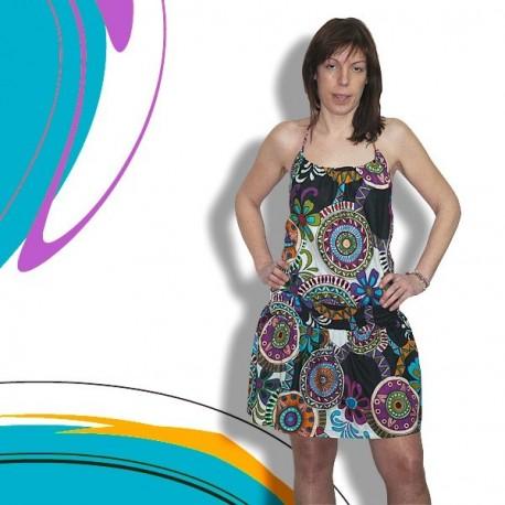 Vestido espalda descubierta DRIN1315