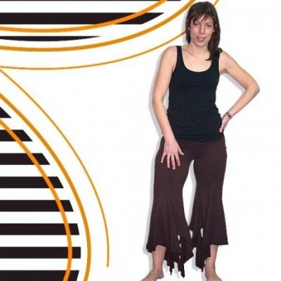 Pantalon hippie picos TRIN1317