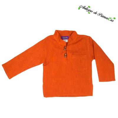 Camisa hippie infantil KDNE2103