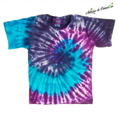 Camiseta tye dye niños KDNE2106