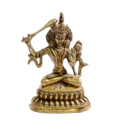 Figura bronce Manjushree