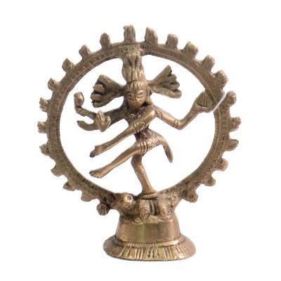 Natraj figura de bronce