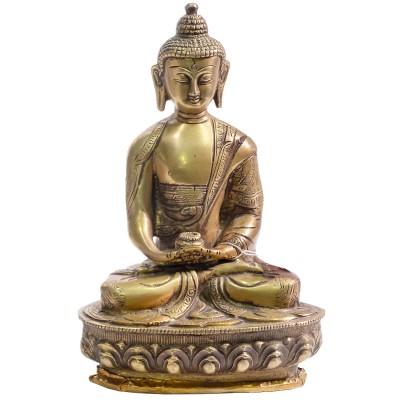 Amitabha Buddha figura de bronce