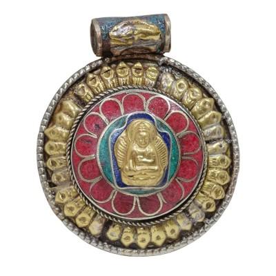 Colgante tibetano Buddha CO118NE