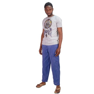 Pantalon rayas hippie