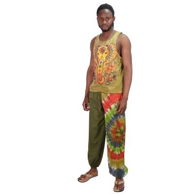 Pantalon bombacho hippie hombre