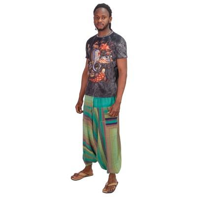 Pantalon afgano rayas