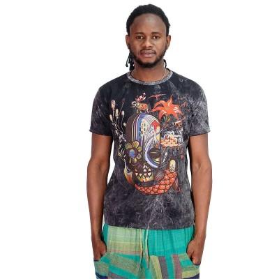 Camiseta hombre psicodelia SHTH2102