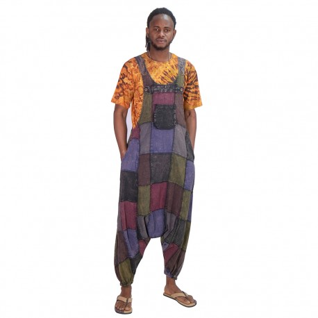 Peto patchwork hippie unisex