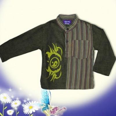 Camisa hippie infantil KDNE1326