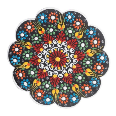 Salvamanteles artesanal de ceramica