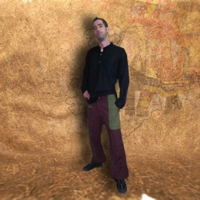 Pantalon Turco Bicolor TRM1306
