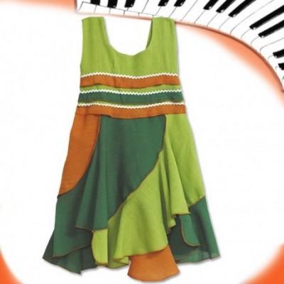 Vestido bambula infantil KDNE1410