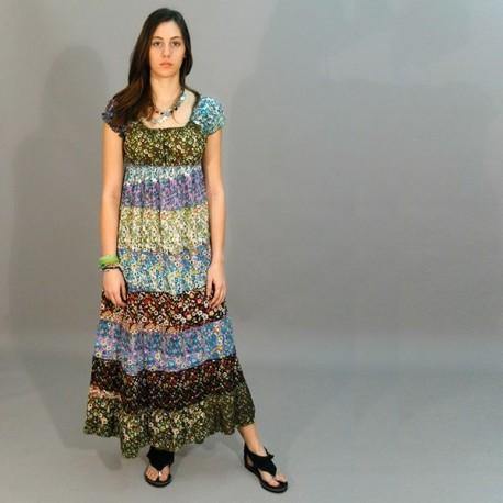 Vestido largo hippie DRIN1402