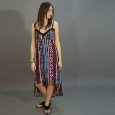 Maxi vestido asimetrico DRIN1403