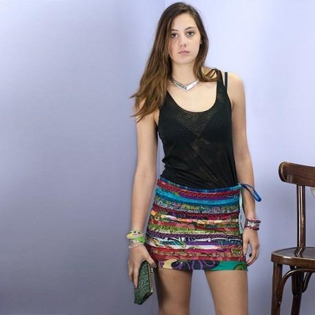 Minifalda hippie SKIN1608